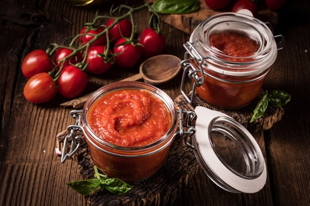 Pasta pomidorowa z oregano i kozim serem…