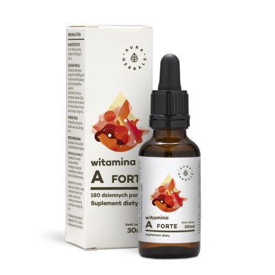 Witamina A Forte – Suplement diety w kroplach (30ml)