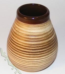 Matero ceramiczne Calabaza miodowe 350 ml