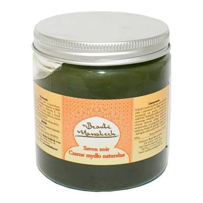 Czarne Mydło Marokańskie – 100% naturalne – 200g