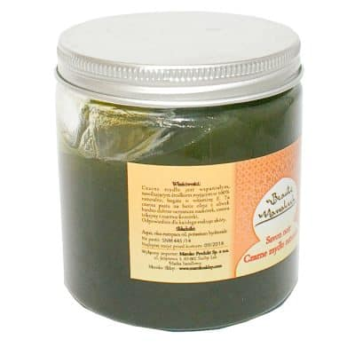 Czerne Mydło Marokańskie – 100% naturalne – 200g