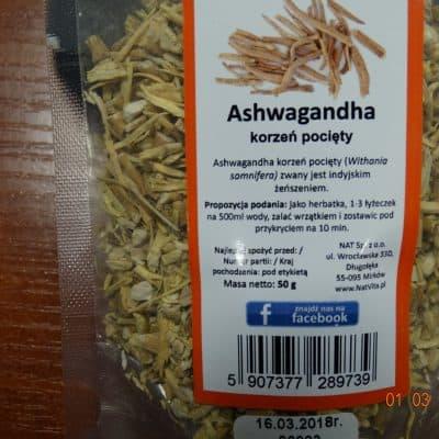 ASHWAGANDHA 100gr