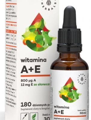 Witamina A + E w kroplach – 30 ml