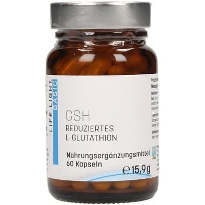 GSH – zredukowany L-glutation 60 kaps