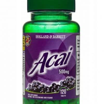 ACAI 500 mg 120 Tabs HOLLAND & BARRETT