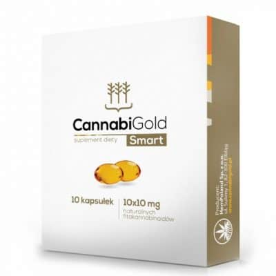 CannabiGold Smart 10 kap 10x10mg