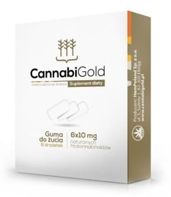 Cannabigold guma do żucia 6szt
