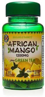 Afrykańskie Mango z Zieloną Herbatą 1200 Mg 60 tab